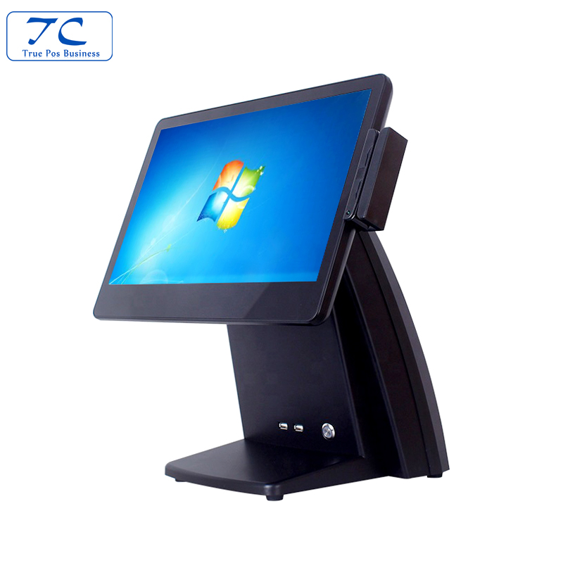 New 15 Inch capacitance full true screen Pos terminal